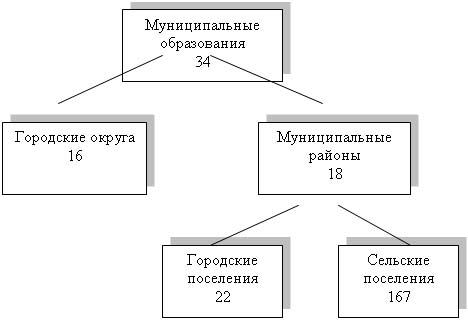 Рис. Структура муниципальных