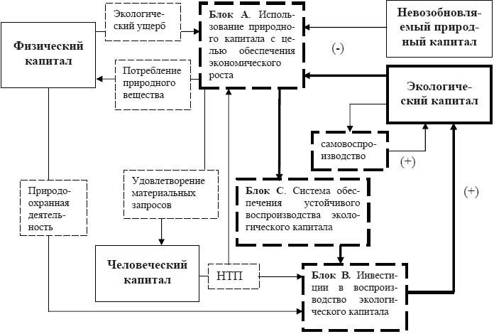 Схема воспроизводственных