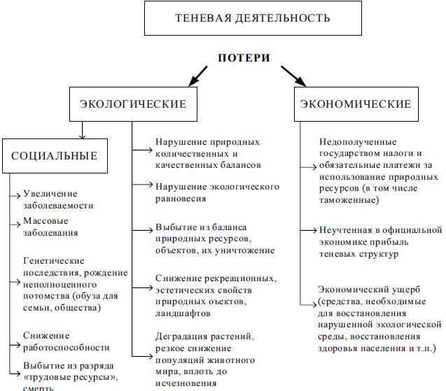 Теневая экономика развитие и современное состояние